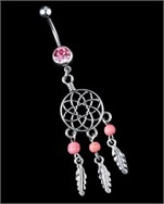 Dreamcatcher Göbek Piercing